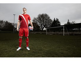 Nemanja Vidic in the latest PowerCat 1 FG Colourway