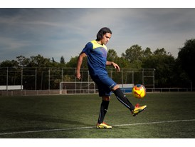 Radamel Falcao in the latest evoSPEED 1 FG colourway