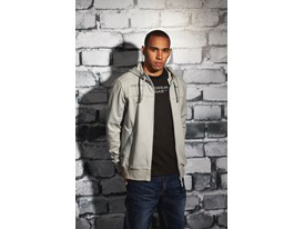 Lewis Hamilton Wears the SS13 PUMA MERCEDES AMG PETRONAS Lifestyle Collection - Image 005