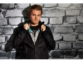 Nico Rosberg wears the SS13 PUMA MERCEDES AMG PETRONAS Lifestyle Collection - Image 004