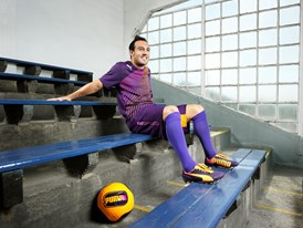 Santi Cazorla Wears the New evoSPEED 1.2 FG