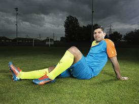 Sergio Agüero Wears Latest PUMA evoSPEED 1.2 Colourway