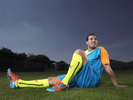 Santi Cazorla Wears Latest PUMA evoSPEED 1.2 Colourway