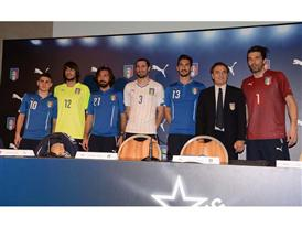 PUMA and the FIGC launch the new Italian 2014 FIFA World Cup™ Kits
