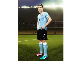 Cristian Rodríguez will wear PUMA evoSPEED Tricks in Brazil