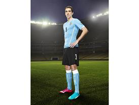 Diego Godín will wear PUMA evoPOWER Tricks in Brazil