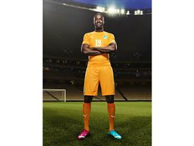 Yaya Touré will wear PUMA evoPOWER Tricks in Brazil