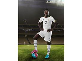 Asamoah Gyan will wear PUMA evoPOWER Tricks in Brazil