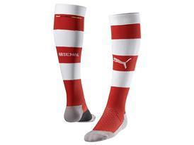 AFC HOOPED SOCKS RED WHITE