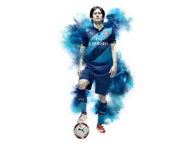 PUMA LAUNCH ARSENAL 2014-15 CUP KIT_ROSICKY
