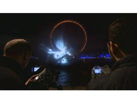 PUMA launch the new Arsenal Kit Trilogy through a spectacular Water Projection on the River Thames in London 3