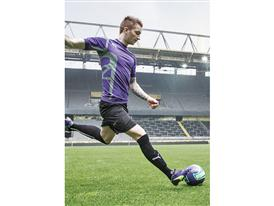Marco Reus wears the new PUMA evoSPEED 1.3