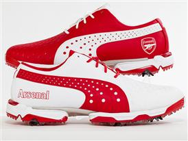 PUMA Golf's NeoLux Arsenal Golf Shoes