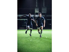 evoPOWER 1.2 Film BTS Image - Fàbregas and Balotelli