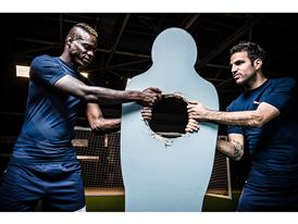 Mario Balotelli and Cesc Fàbregas Head to Head evoPOWER 1.2 FG