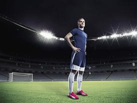 Antoine Griezmann wears PUMA's evoSPEED 1.3 FG Football Boot