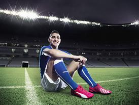 Marco Verratti wears PUMA's evoSPEED 1.3 FG Football Boot