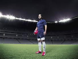 Falcao wears PUMA's new evoSPEED 1.3 Football Boot