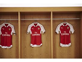 PUMA launches the 2015-2016 Arsenal Home Kit Product (2)