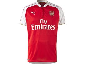 PUMA 2015-16 Arsenal Home Replica Shirt Front