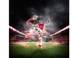 PUMA Launches the 2015-16 Arsenal Home Kit Cazorla 1