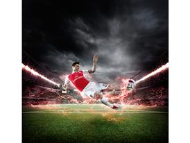 PUMA Launches the 2015-16 Arsenal Home Kit Giroud 1