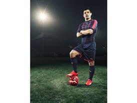 Sergio Aguero wears the new PUMA evoSPEED SL Football Boot_3