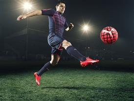 Sergio Aguero wears the new PUMA evoSPEED SL Football Boot_6