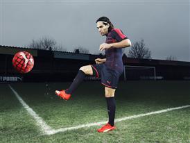 Radamel Falcao wears the new PUMA evoSPEED SL Football Boot_1