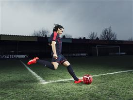 Radamel Falcao wears the new PUMA evoSPEED SL Football Boot_2