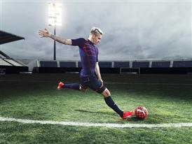 Antione Griezmann wears the new PUMA evoSPEED SL Football Boot_2