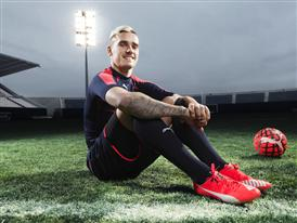 Antione Griezmann wears the new PUMA evoSPEED SL Football Boot_7