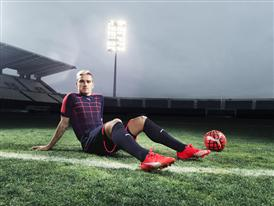 Antione Griezmann wears the new PUMA evoSPEED SL Football Boot_8