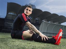Marco Verratti wears the new PUMA evoSPEED SL Football Boot_8