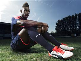 Mario Balotelli wears the new PUMA evoPOWER 1.2 Football Boot 8