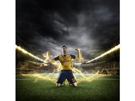 PUMA Launches the 2015-16 Arsenal Away Kit_Giroud