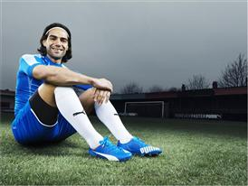 Falcao Wears the New PUMA evoSPEED SL_7