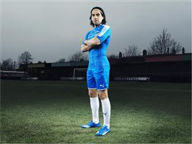 Falcao Wears the New PUMA evoSPEED SL_4