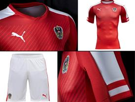 PUMA & +ûFB Launch the New Austria Home Kit