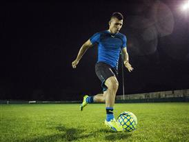 Sergio Aguero wears the new evoSPEED SL 4