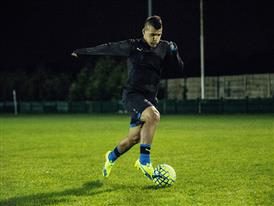 Sergio Aguero wears the new evoSPEED SL 5