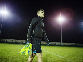 Sergio Aguero wears the new evoSPEED SL 7