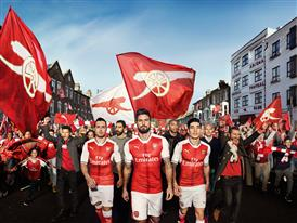 PUMA Launches the 2016/17 Arsenal Home Kit_ Campaign Visual 1