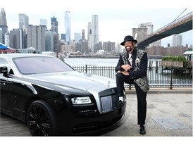 Walt 'Clyde' Frazier poses wearing PUMA Clyde 'Wraith' at the Brooklyn Bridge Park