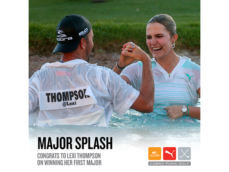Congrats To Lexi Thompson on Winning Her First Major