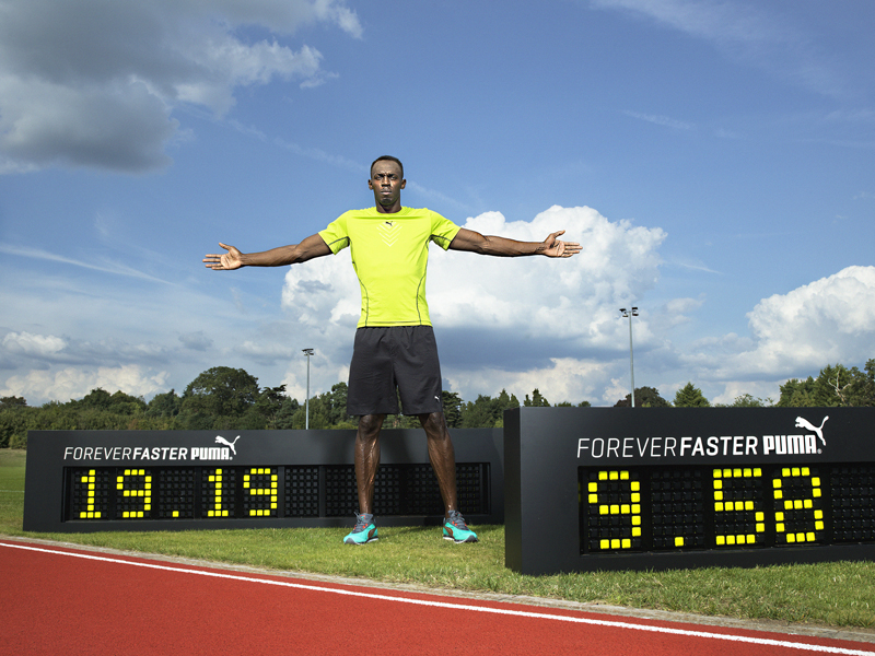 Usain Bolt is Forever Faster with PUMA