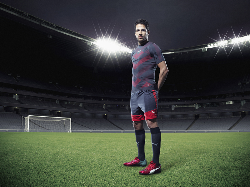 Cesc Fàbregas wears PUMA's new evoPOWER 1.2_Q2