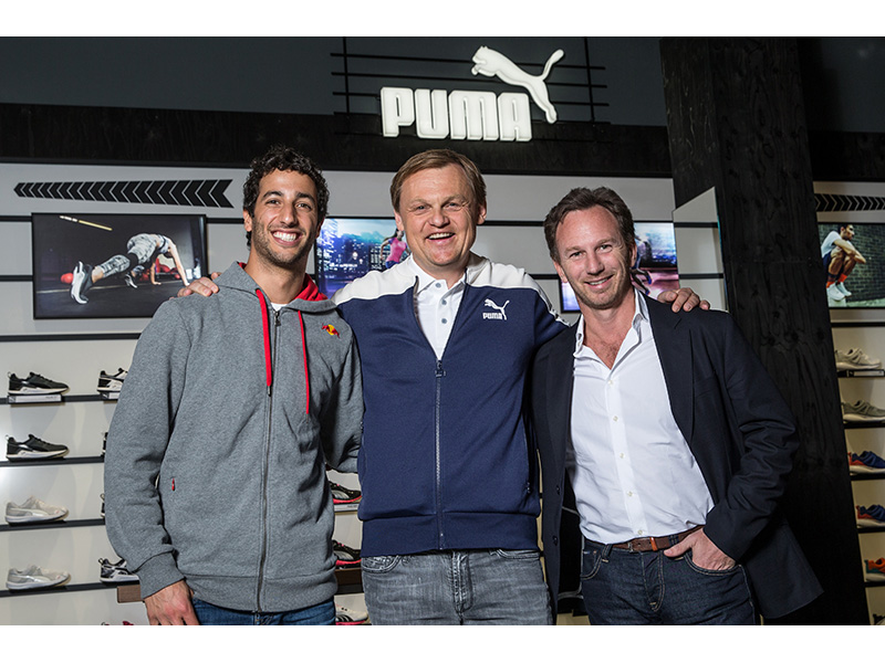 PUMA Announces Partnership With INFINITI RED BULL RACING F1 Team