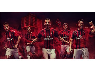 INTRODUCING THE NEW AC MILAN 2018/19 HOME KIT