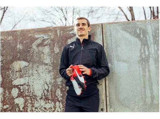 Antoine Griezmann wears the new evoSPEED boot_6